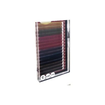 Falsche Wimpern C 11mm 0,07 Wimpernverlängerung 1