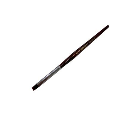 Farbgel Pinsel Braun Nr. 4 1