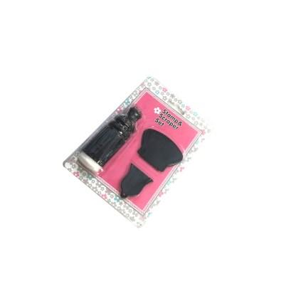 Scraper & Stempel Stamping Set 3 1