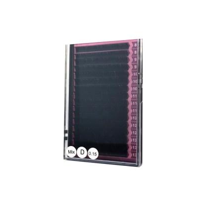 Falsche Wimpern Mix 0,15mm D Wimpernverlängerung 1
