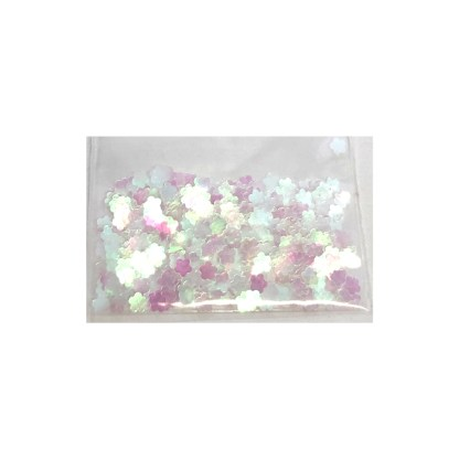 3D Hologramm Blumen Charm - B3 1