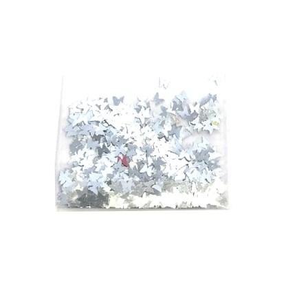 3D Schmetterling – Silber - B15 1
