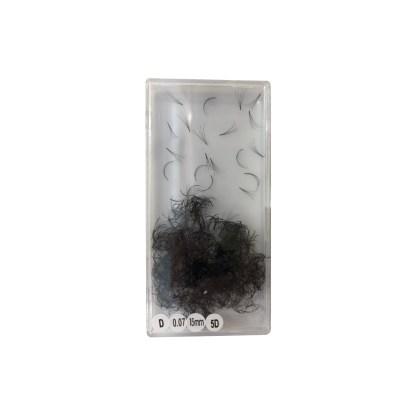 Volumen Wimpern D 0,07 15mm 5D 1