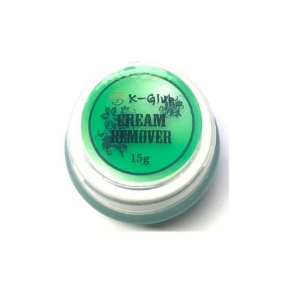 Cremeentferner für falscher Wimpern 15g – Grün 1