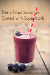 Nutritional Smoothies: Berry Blast Superfood Smoothie