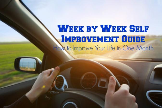Week by Week Guide to Self Improvement