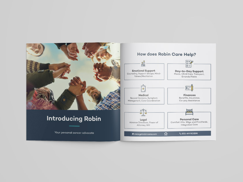 Robin Care Welcome Booklet Spread