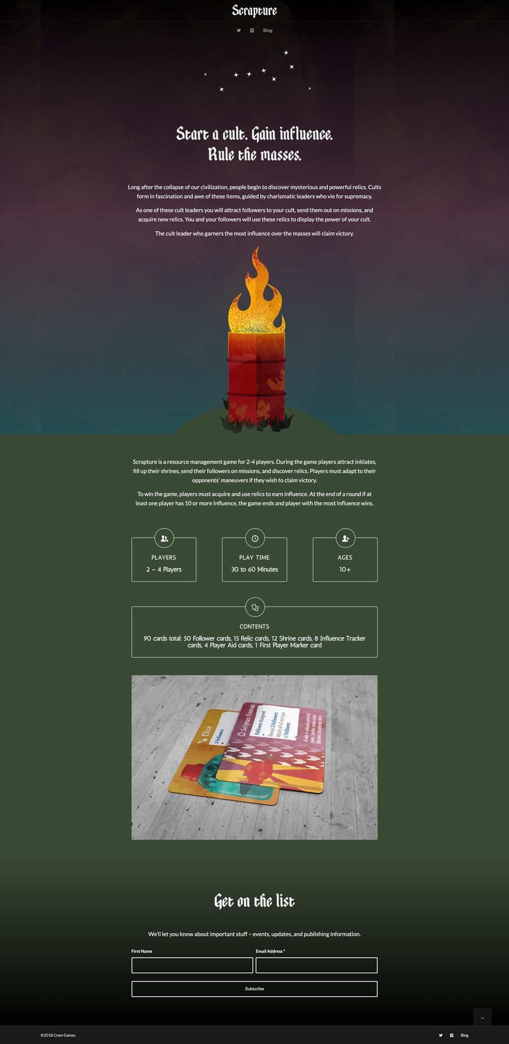 Scrapture Website