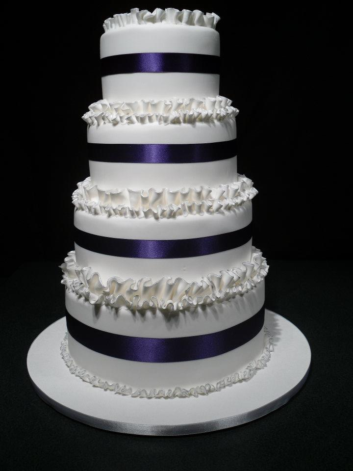Four tier Wedding Cake  Welcome to Cindys Cakes