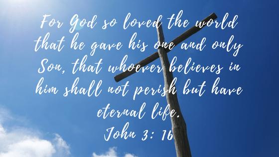 John 3, 16