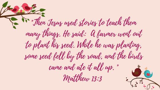 Matthew 13, 3