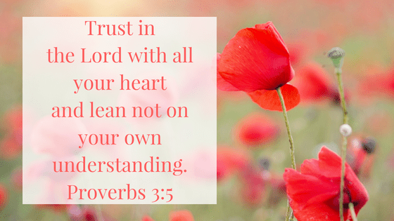 Proverbs 3, 5