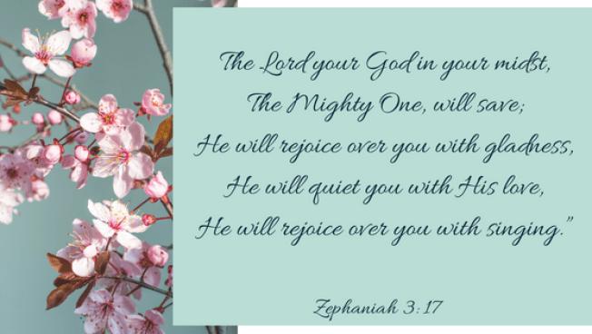 Zephania 3, 17