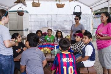 kids at field trip