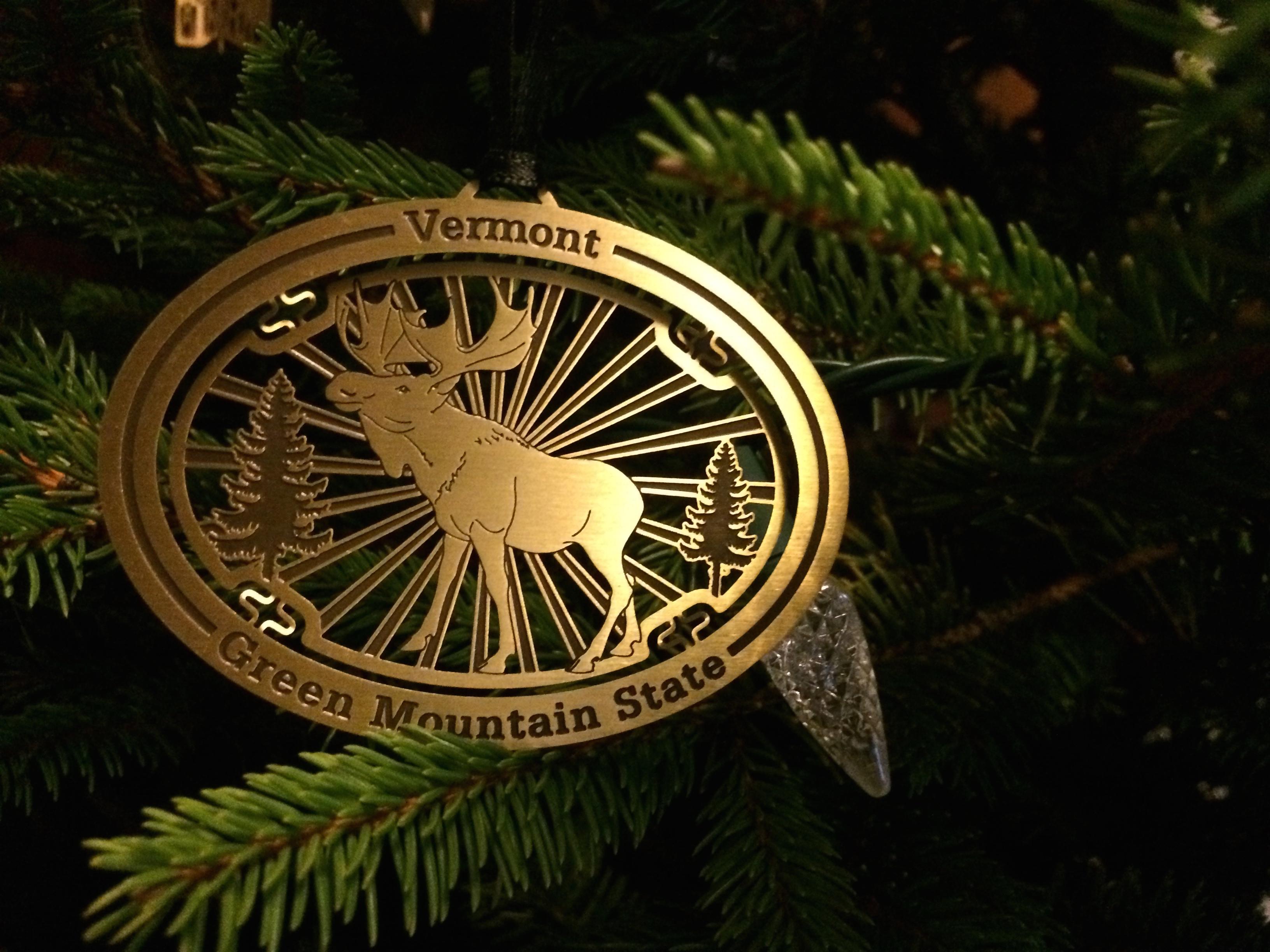 Drama christmas ornaments - Vermont Christmas Ornament