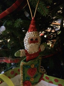 Cindy Thomson's childhood ornament