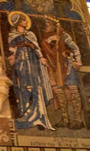St. Brigid mural