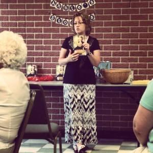 Cindy Thomson speaks about Annie's Stories