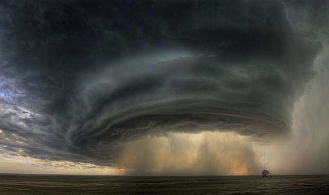 Rotating super cell