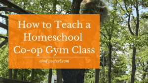 Teach Homeschool Gym Co-op