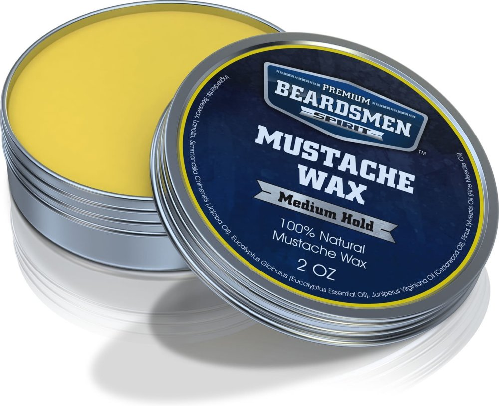 Beardsmen Mustache Wax- Medium Hold- Beardsman Spirit (3/3)