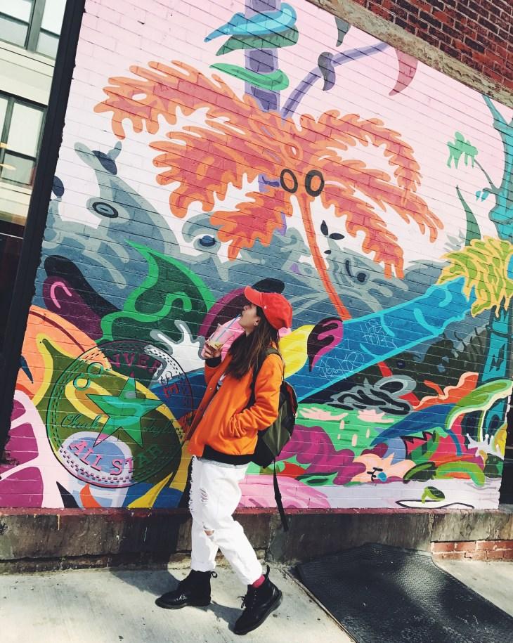 紐約New York |自由行 |威廉斯堡Williamsburg, Brooklyn每個街角都能嗅到藝術氣息