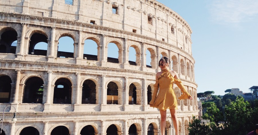 Roman Colosseum Italy