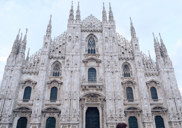 Milan cathedral italy