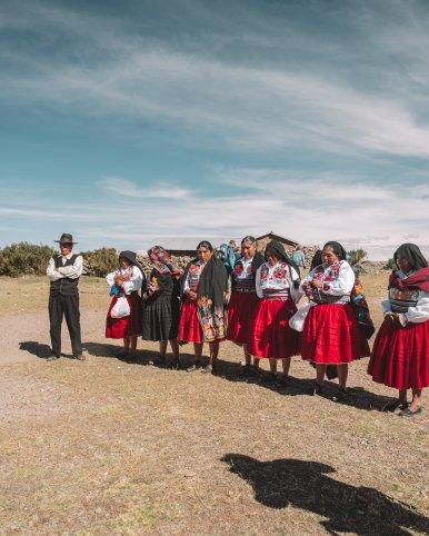 Lake Titicaca homestay hosts
