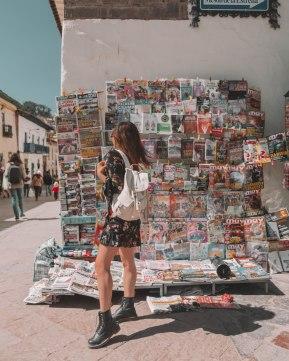 magazine stop in cusco peru