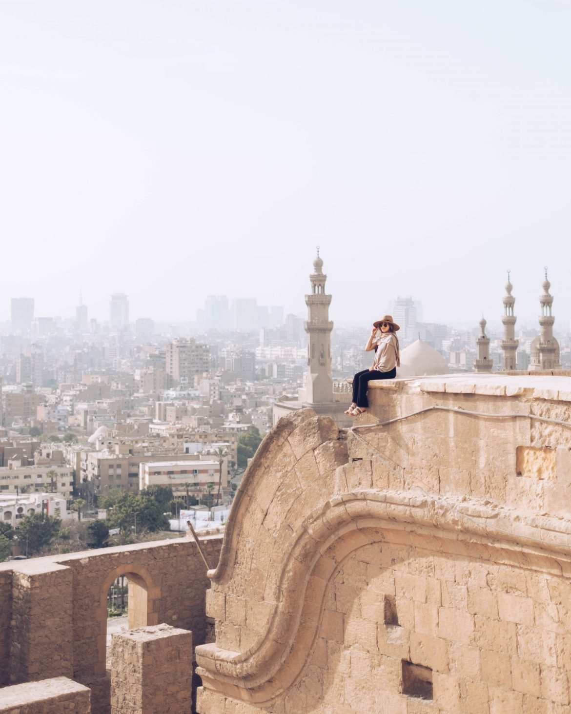views from Muhammed Ali Mosque - Egypt travel guide and itinerary