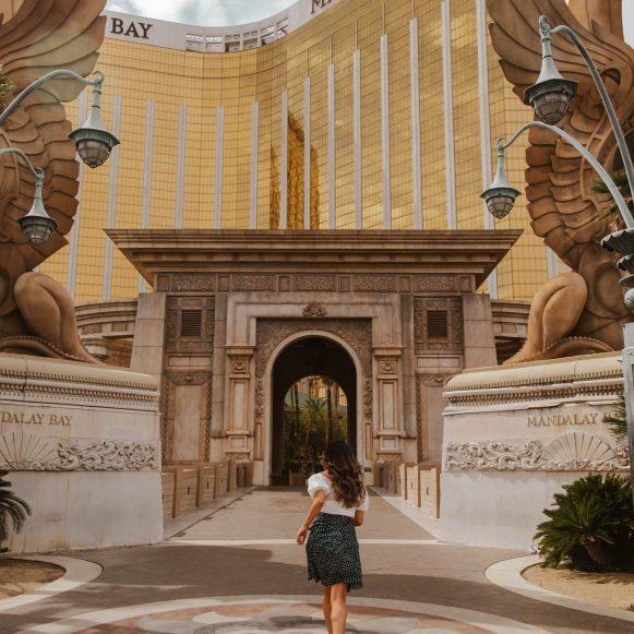 Mandalay Bay hotel in Las Vegas, Nevada