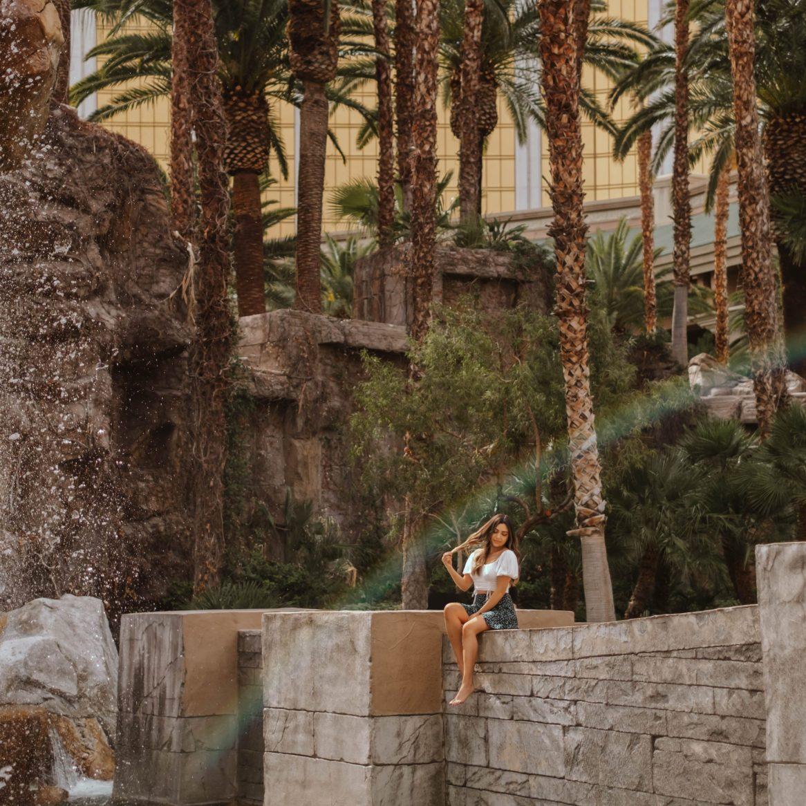 rainbow at Mandalay Bay Resort, Las Vegas