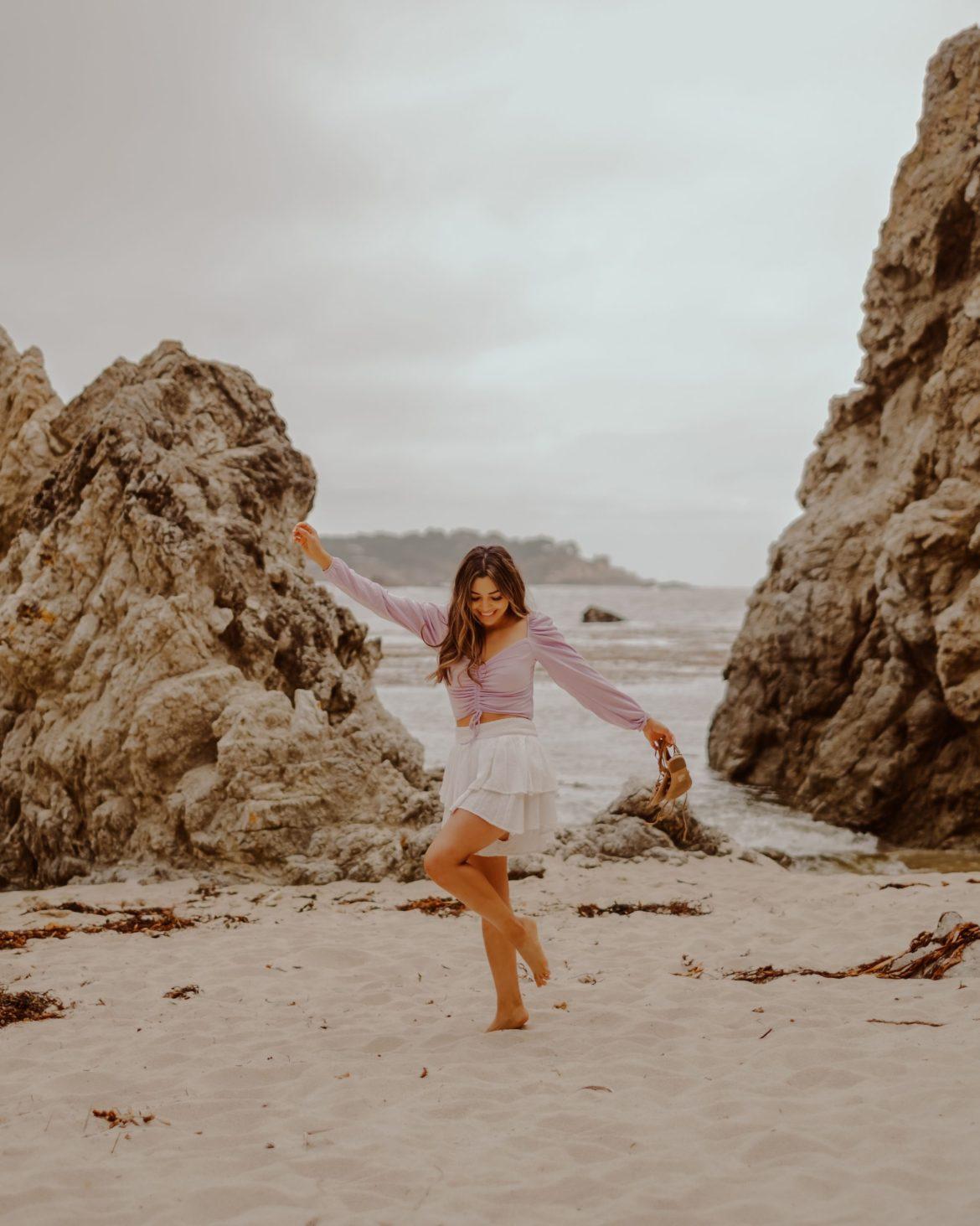 Gibson Beach, Point Lobos, Carmel -