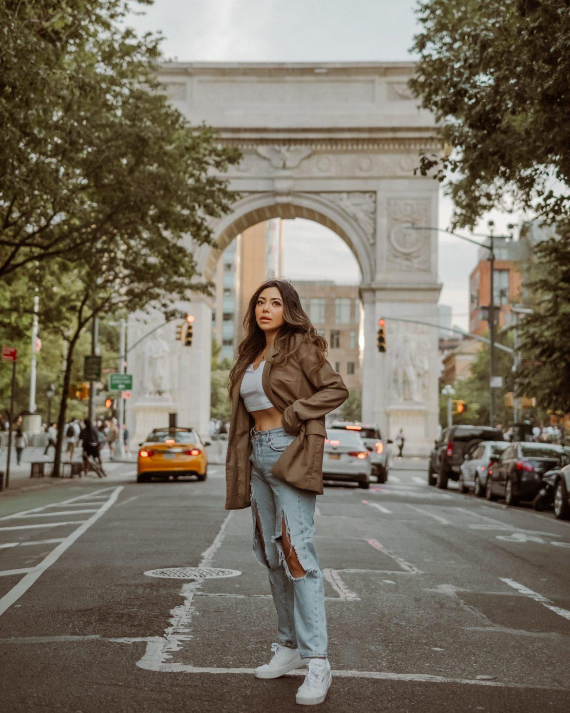 Washington Square Park photoshoot