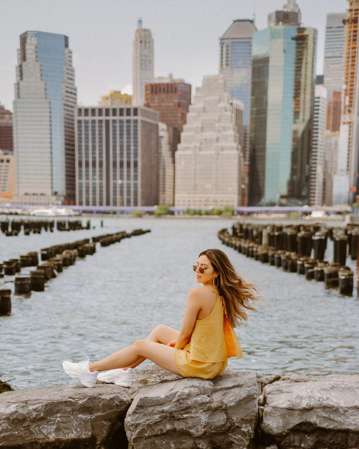 17 Best Instagram Worthy Spots in New York | Old Pier 1 in Brooklyn
