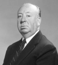 portrait de Hitchcock