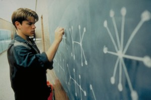 scène will hunting matt damon