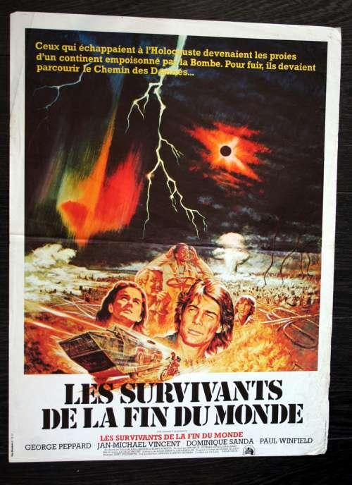 Les Survivants De La Fin Du Monde : survivants, monde, Affiches, Cinéma, SURVIVANTS, MONDE, (1977)
