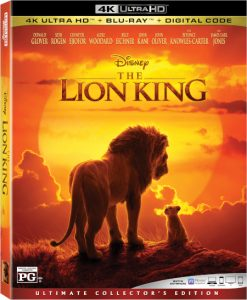 Dvd Le Roi Lion 2019 : Lion), (2019), Format, Ultra, Blu-ray, Prochainement