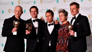 Baftas 2018: Three Billboards wins Best Film, Guillermo del Toro is Best Director