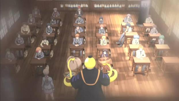 Koro-sensei en cours