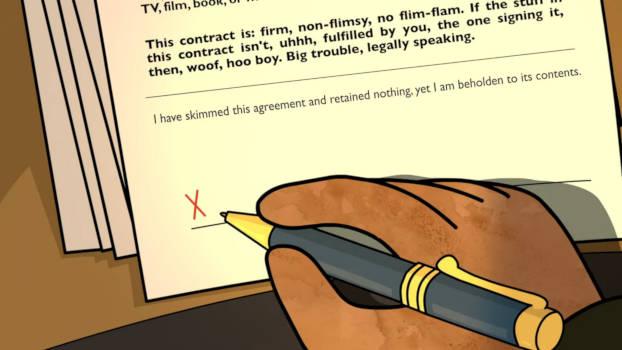 Signer un contrat sans le lire