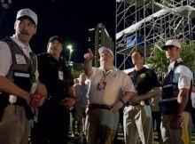 Richard Jewell et l'équipe de sécurité des JO d'Atlanta