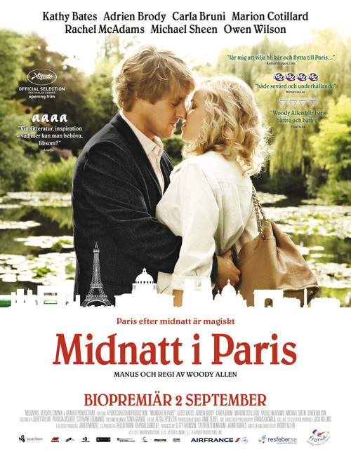 Midnatt i Paris
