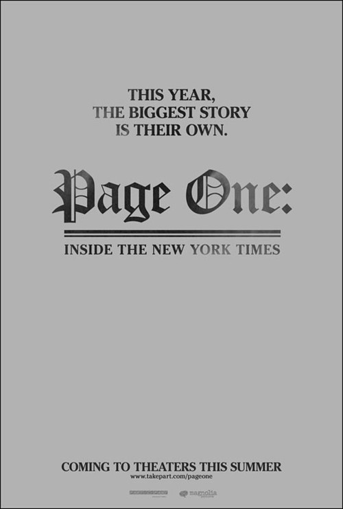 Page One – Inside The New York Times
