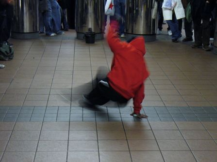 Break dancer, New York