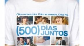 500 días juntos, Estrenos 23 de octubre