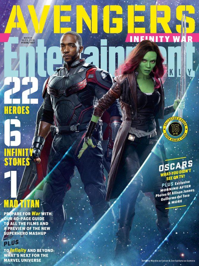 Nuevas imágenes de Los Vengadores: Infinity War