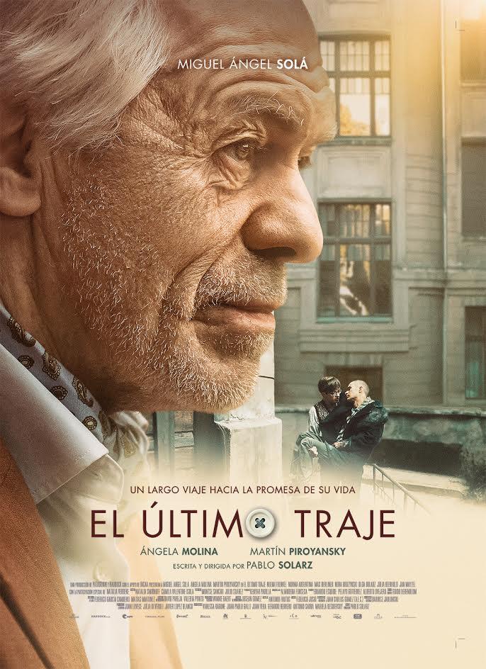 El último traje con Miguél Ángel Solá es uno de los cuatro estrenos nacionales de hoy.